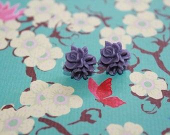 Flowers earrings cheap