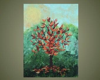 Original Painting: Brilliance of Fall