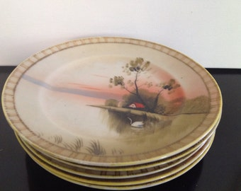 Lot of 5 L & Co Nippon cake plates
