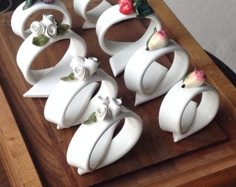 Fruit Napkin rings