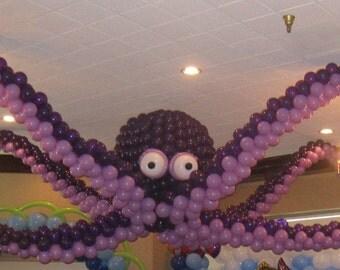Gigantic Octopus 3D Sculpture