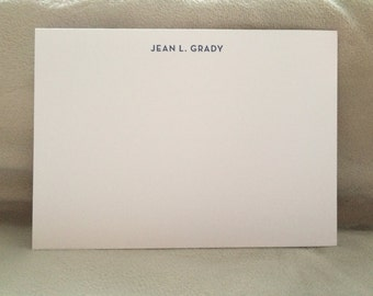 Personalized Letterpress Notecards (set of 50)