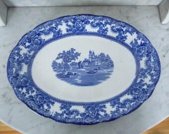 Antique Pottery ''Transfer Ware'' Staffordshire Service Platter – ''Togo'' – circa 1890
