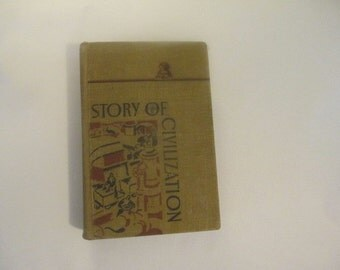 1946 Story of Civilization by Becker and Duncalf