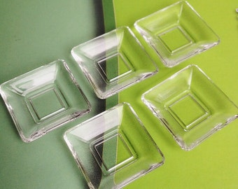 2/4 pcs.Miniature Acrylic Plate,Miniature Plate,Miniature food Plate,Dollhouse Plate,Dollhouse Tray,Miniature Tray,Dollhouse food,Dollhouse