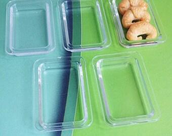 Acrylic tray Miniature for Doll's House,Small Tray,Doll house food tray,Miniature Accessory,Miniature tray, Food Tray,Fruit Tray,Bakery Tray