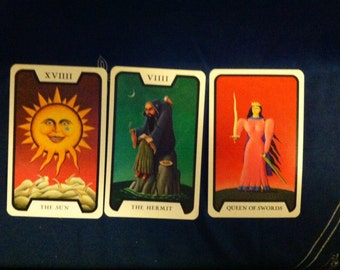 3-card Tarot Spread: Past, Present, and Future