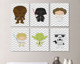 Star Wars Nursery Art. Baby Boy Nursery Print. Nursery Art. Nursery Decor. Star Wars Nursery Print. Star Wars Baby. Star Wars Poster. NS512