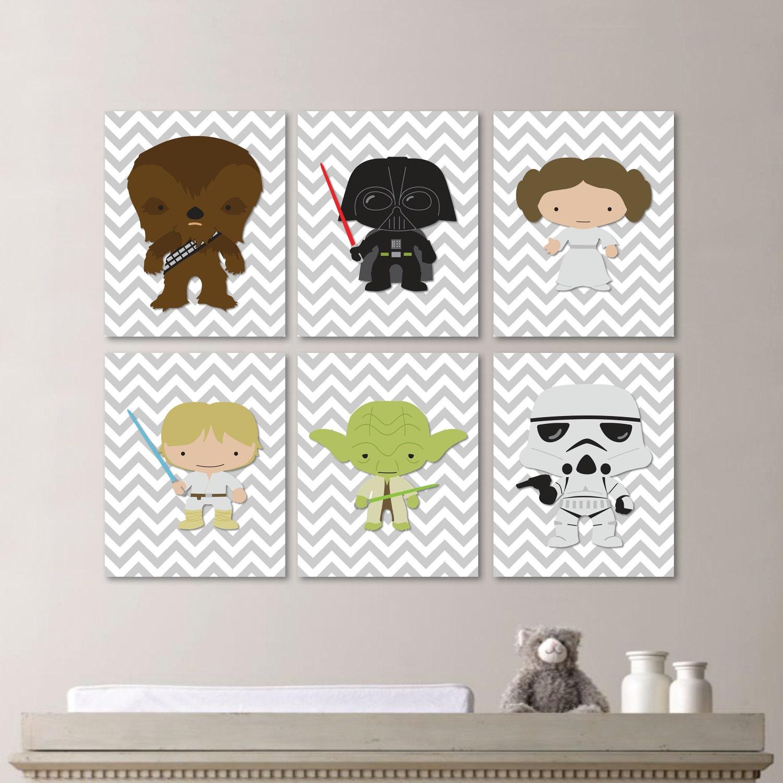 Star Wars Nursery Art Baby Boy Nursery Print Nursery Art
