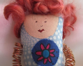 Wise Woman Doll (Curly girl)