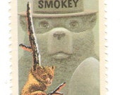 10 Unused 1984 Smokey the Bear - Vintage Postage Stamps Number 2096