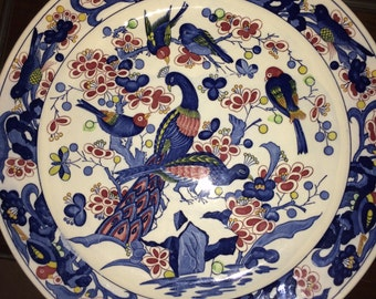 Popular Items For Peacocks Plate On Etsy