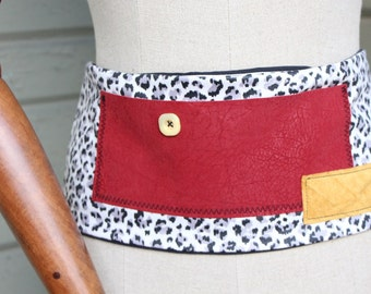 money belt obi with ties in back