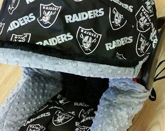 Oakland Raiders Infant Car Seat Replacement Cover. You choose colors. All NFL teams & Nfl car seat cover | Etsy