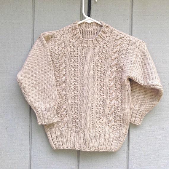 Xl Sweater Knitting Pattern : Child s knit sweater pattern bronze cardigan
