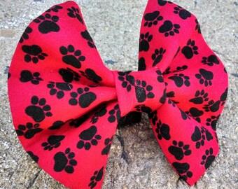 Red Black Paw Love