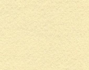 Merino Wool Blend Felt Sheet -Ivory- You pick Size