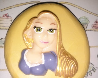 Long Haired Princess Flexible Silicone Mold