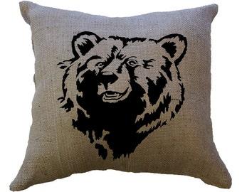 Bear STENCIL for home wall interior decor / reusable stencil