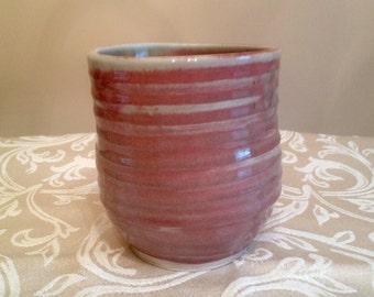 Handmade Ceramic Pink Cup