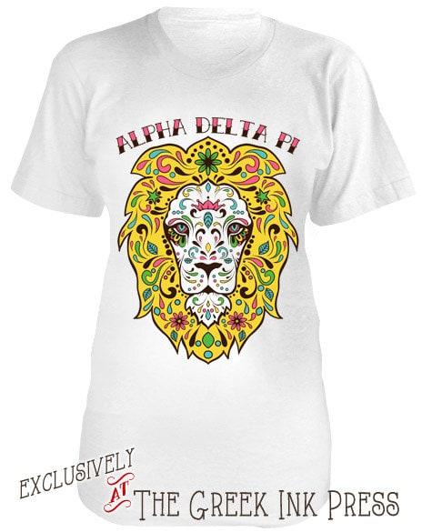 The lion king design custom sorority t shirt aa2001 for Custom sorority t shirts