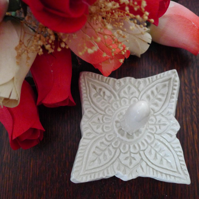 white ring holder wedding ring holder by flirtygirlweddings