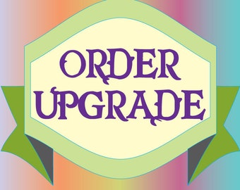 Upgrade - Personalization or Double Sided Cupcake Toppers -