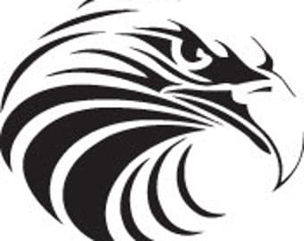 American Eagle Decal - Multiple Colors Available