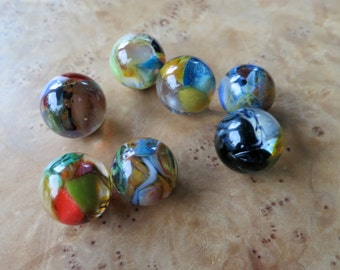 Recycled Colorful Glass Marbles Borosilicate