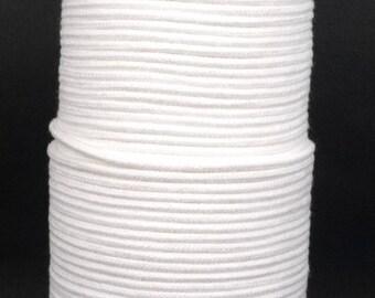 100yd / 200 yds / 350 yds White Cotton Cord String Rope Drawstring Wrap DIY 2mm Diameter CC1