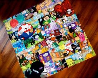 CUSTOM - Adventure Time Comic Book Table