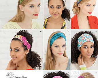 Simplicity Sewing Pattern 1791 Misses' Hair Accessories