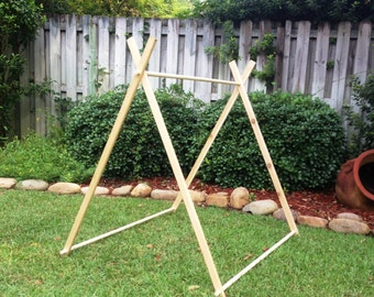 4 Foot A-Frame Tent Frames, Fort, Playhouse, Teepee, Photo Prop