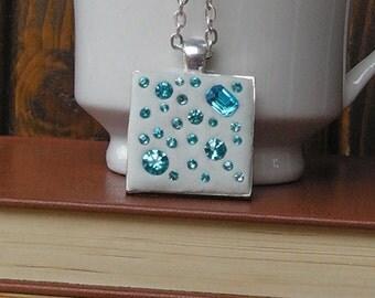 light blue Medallion