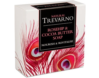 Trevarno Rosehip & Cocoa Butter Soap