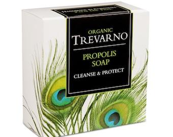 Organic Trevarno Propolis Soap