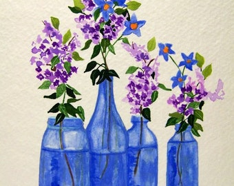 No.  481   Lilacs and Starflowers