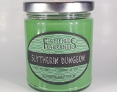 Slytherin Dungeon -- Harry Potter Inspired 8oz Scented Soy Candle