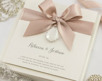 Crystal Wedding Invitation