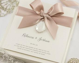 Crystal Wedding Invitation