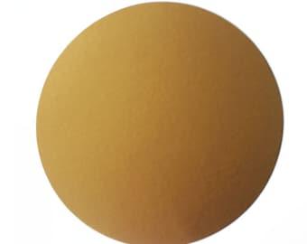 Circles 6.5 inch Metallic (25/pk) with Optional Holes | Die cut Circles | 6.5 inch circles | Cardstock Circles | Metallic Cardstock Circles