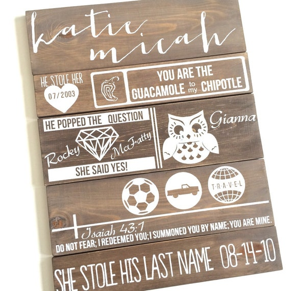 Our Love Story Wedding Idea: Items Similar To Wedding Sign, Our Love Story Board **As