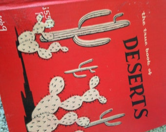 Reduced and Free Shipping-The True Book of Deserts/Elsa Posell
