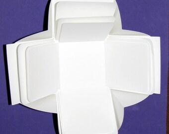 Explosion Box, Zentangle, Exploding Box, Explosion Box Water Color Paper, Zentangle® Explosion Box, Blank Explosion Box