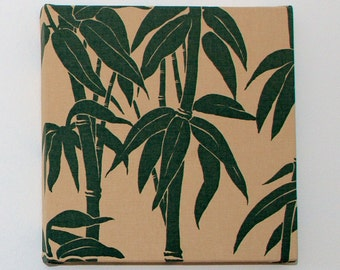 SALE Florence Broadhurst 'Japanese Bamboo' in Sand/Teal