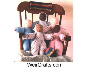 Flannel Body Doll Making  Kit