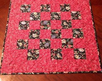 Teapot mini quilt