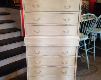 SOLD / STACKED  / painted dresser / furniture