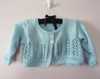 Lacy Garland Design Shorty Sweater - size 4