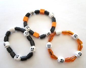 LEGO Skull Bracelet